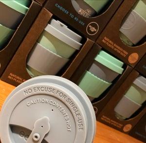 Image of POLDHU 12oz ECOFFEE CUP - GREY GOO