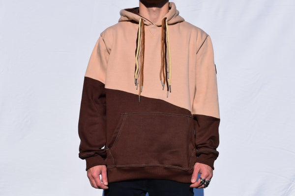 Image of Earth Tone Multi Drawstring Hoodie