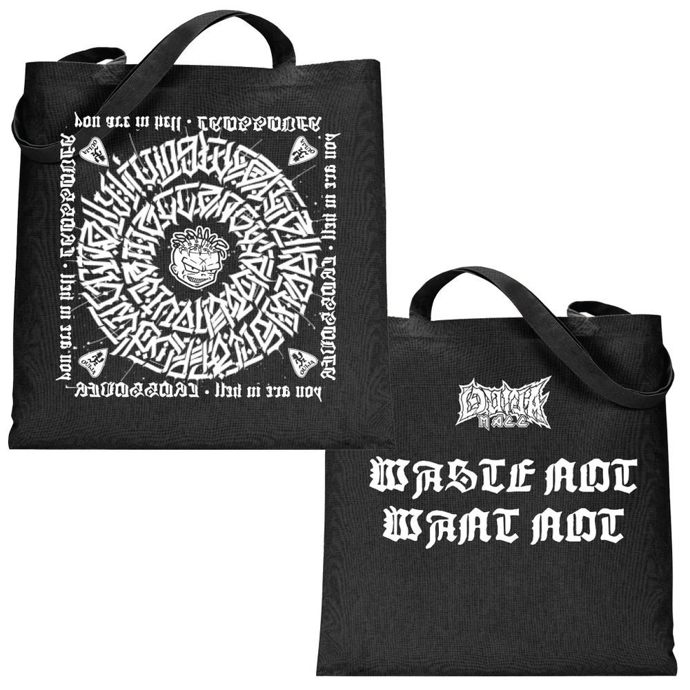 Image of The Secret Glyph of Wasteland - reusable shopping bag