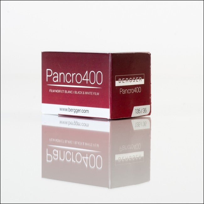 Image of Bergger PANCRO 400 BW Film (35mm, 120, 4X5, 5X7, 8X10, 11X14, 16X20)
