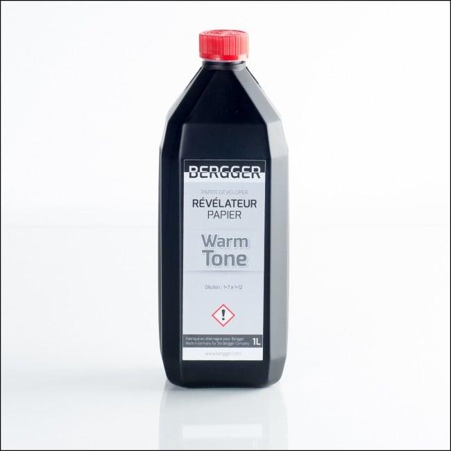 Image of BERGGER WARM-TONE PRINT BW paper developer (1L Liquid)