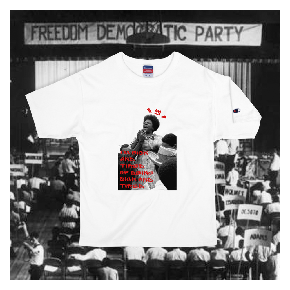 """Image of """"I'm Sick and Tired"""" - Fannie Lou Hamer Tee"""