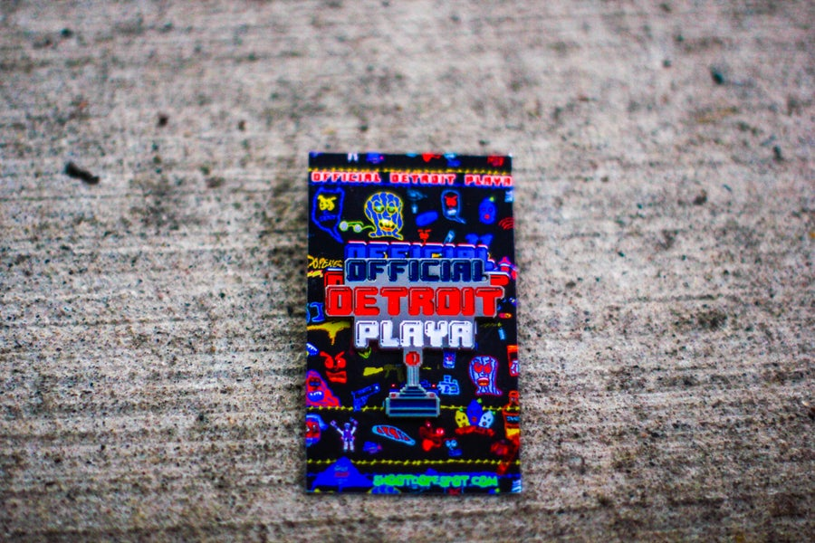 Image of Official Detroit Playa Pin