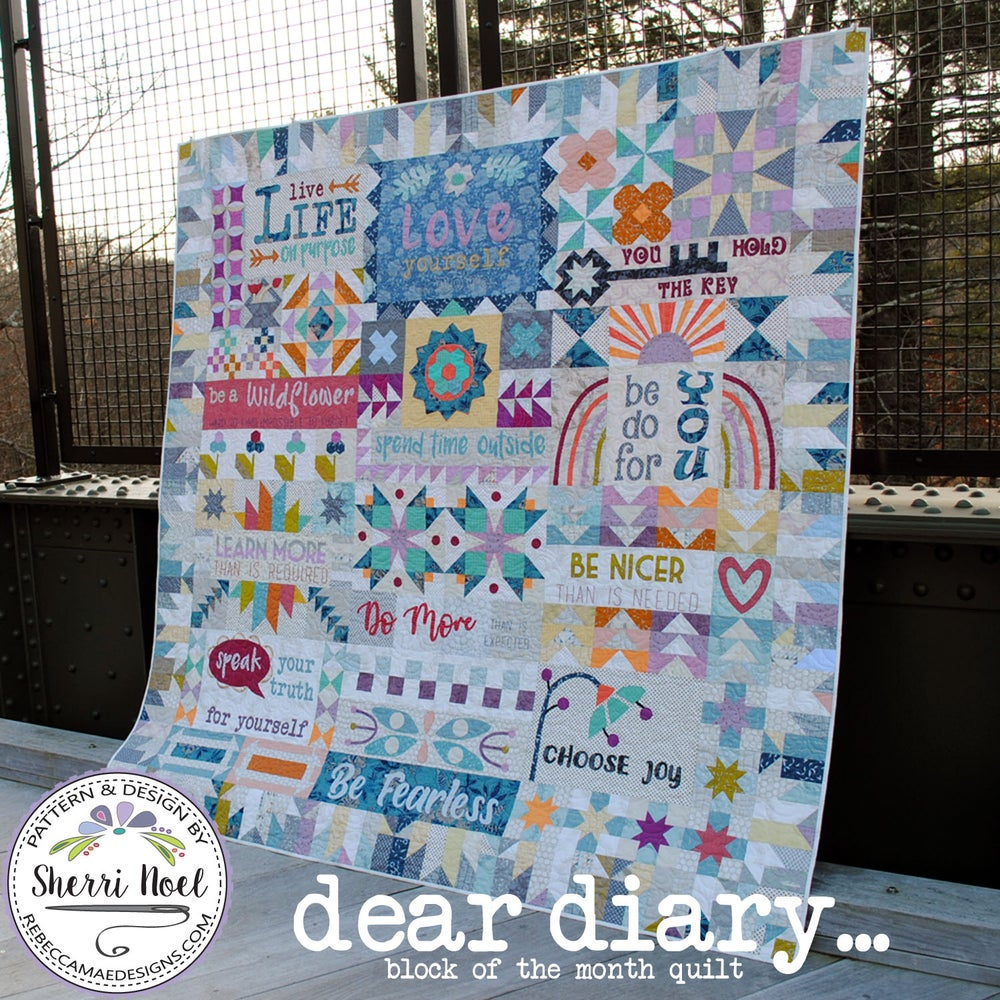 Image of Dear Diary Quilt