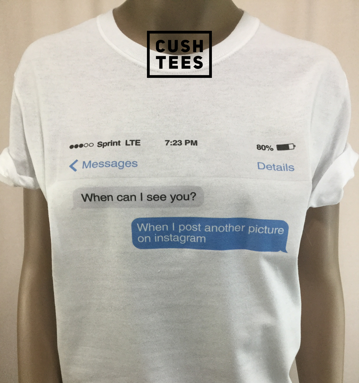 Image of When can I see you? (Unisex) T-shirt