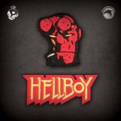 Image of Hellboy/B.P.R.D.: Hellboy & Logo patch set! FREE U.S. SHIPPING FOR 48 HOURS!