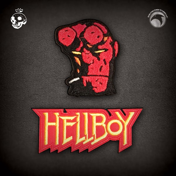 Image of Hellboy/B.P.R.D.: Hellboy & Logo patch set!
