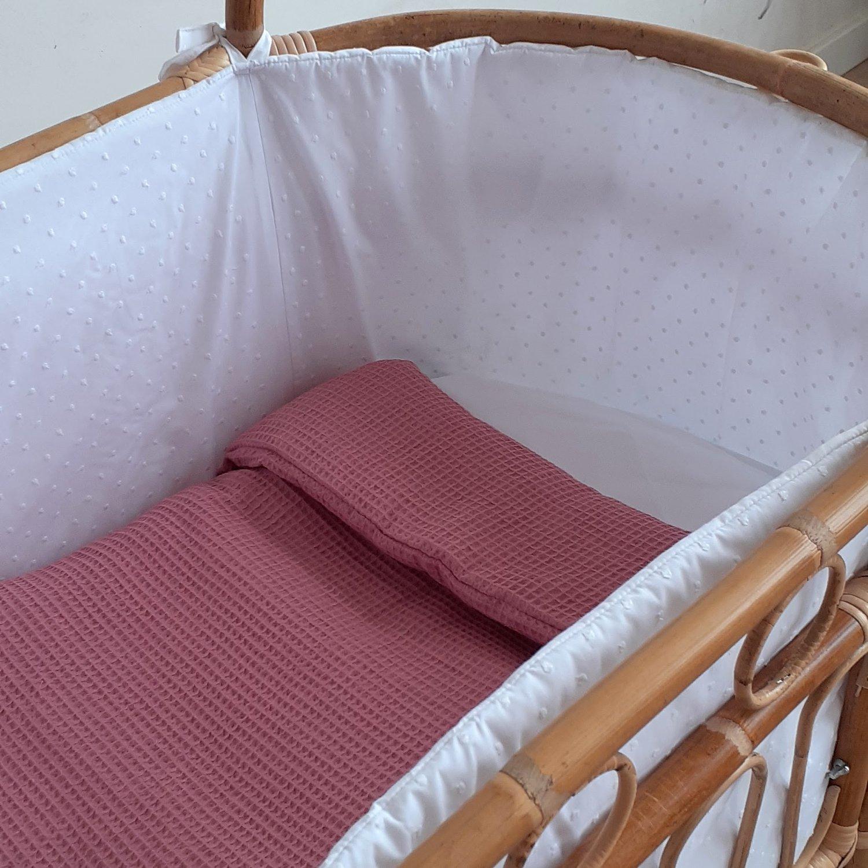Image of Colchita custom para minicuna bamboo o burbujitas