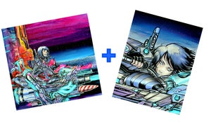 "Image of ""Aura Speeder Bikes"" Print set"
