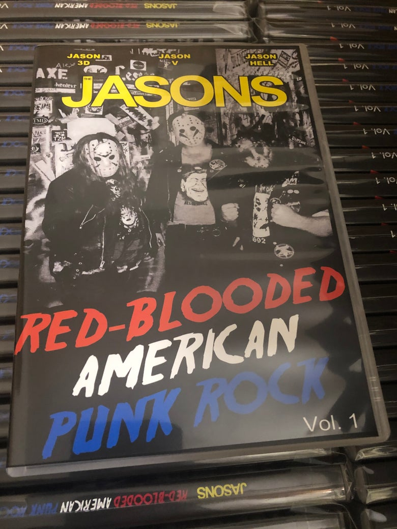 Image of Red Blooded American Punk Rock VOL. 1 - DVD