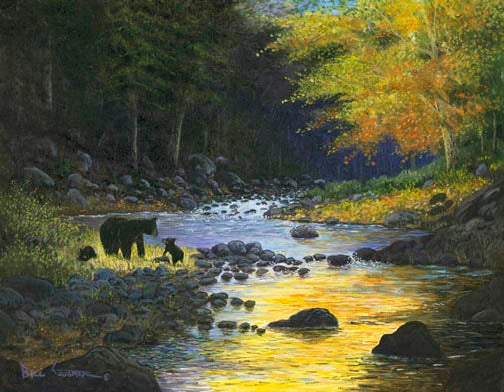 """Image of """" Allure of the Sierra """"  ( 16""""x 20"""" giclee print)"""