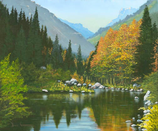 """Image of """" Sierra Reflections"""" (16""""x 20"""" giclee print)"""