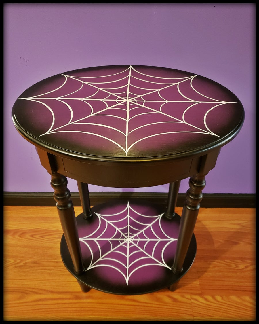 Image of Spiderweb Accent Table