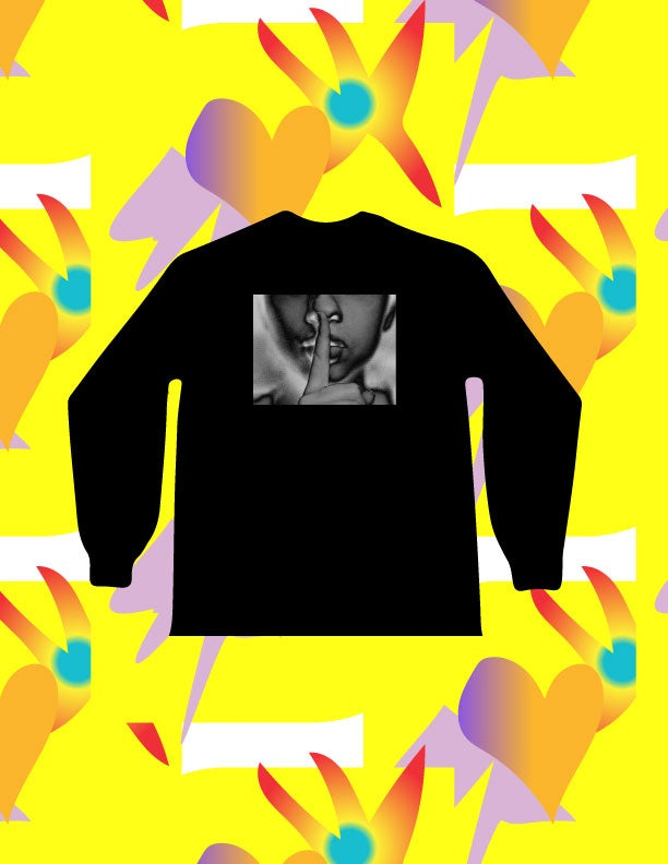 Image of LONELY GRAVE X XXV1 COLLAB LONG SLEEVE