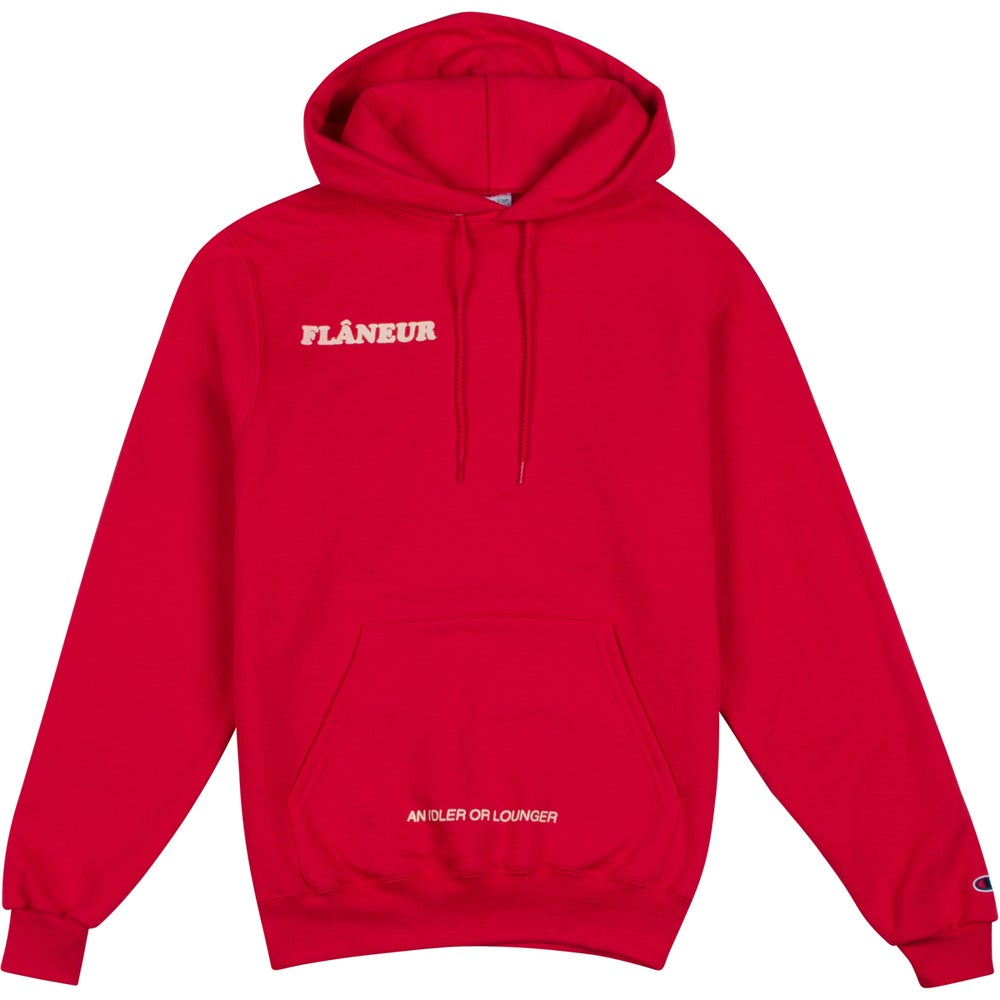 Image of FLÂNEUR Pullover (red)