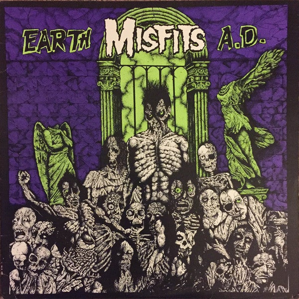 Image of the MISFITS - Earth A.D. LP