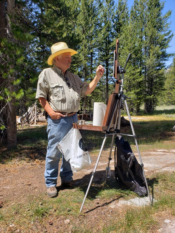 Image of 2020 2 Day Painting Workshop in Bishop Ca.- Dates to be announced.