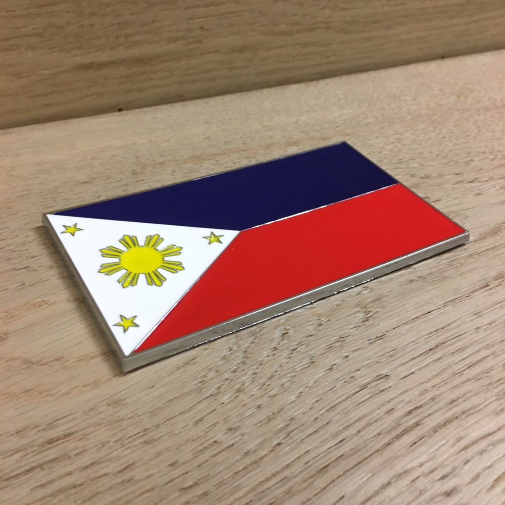 Image of Filipino Flag Emblem/ Icon