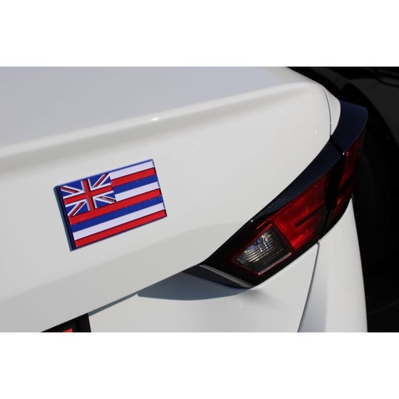 Image of Hawaiian Flag Emblem/ Icon