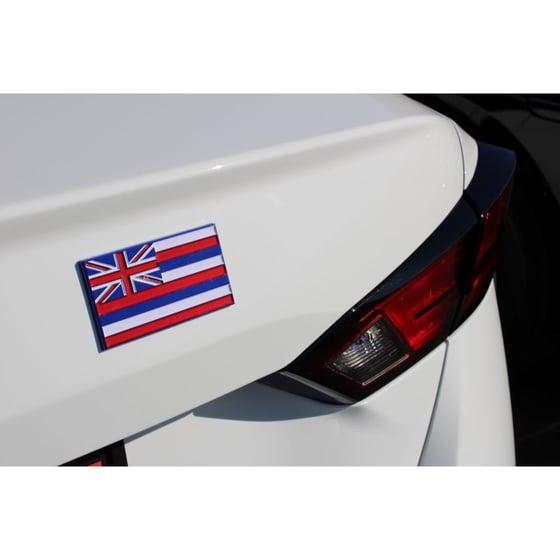 Image of Hawaiian Flag Emblem/ Icon