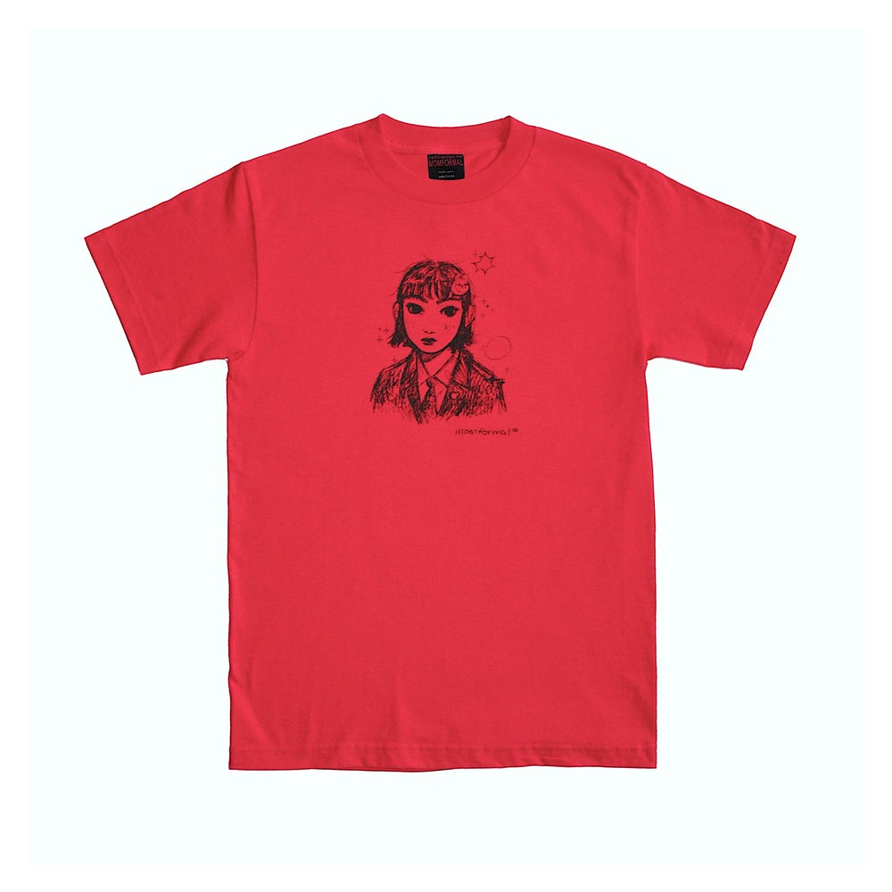 Image of PORTRAIT TEE (RED)