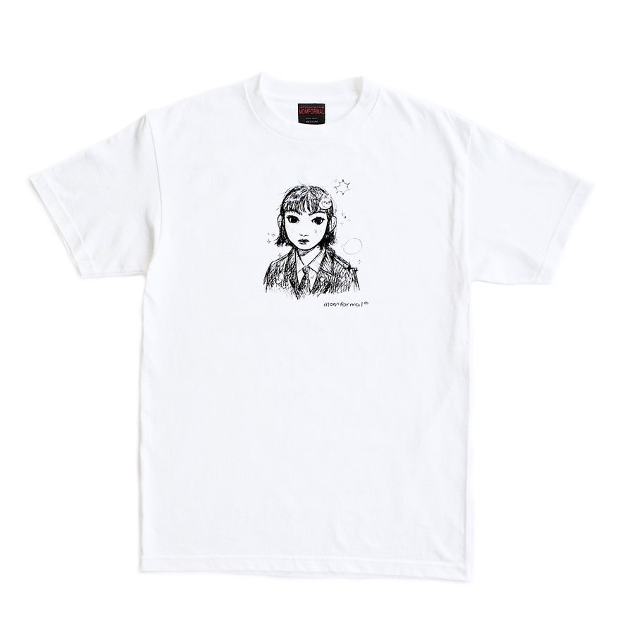 Image of PORTRAIT TEE (WHITE)
