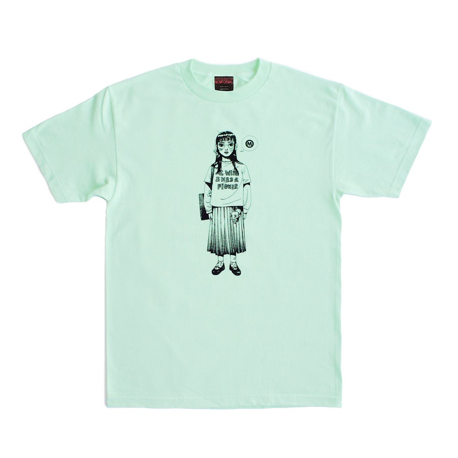 Image of FLOWER TEE (MINT)