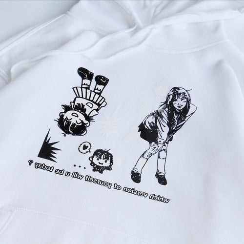 Image of REFLECTION HOODIE (WHITE)