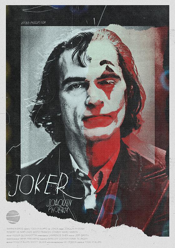 Image of Joker AP Print