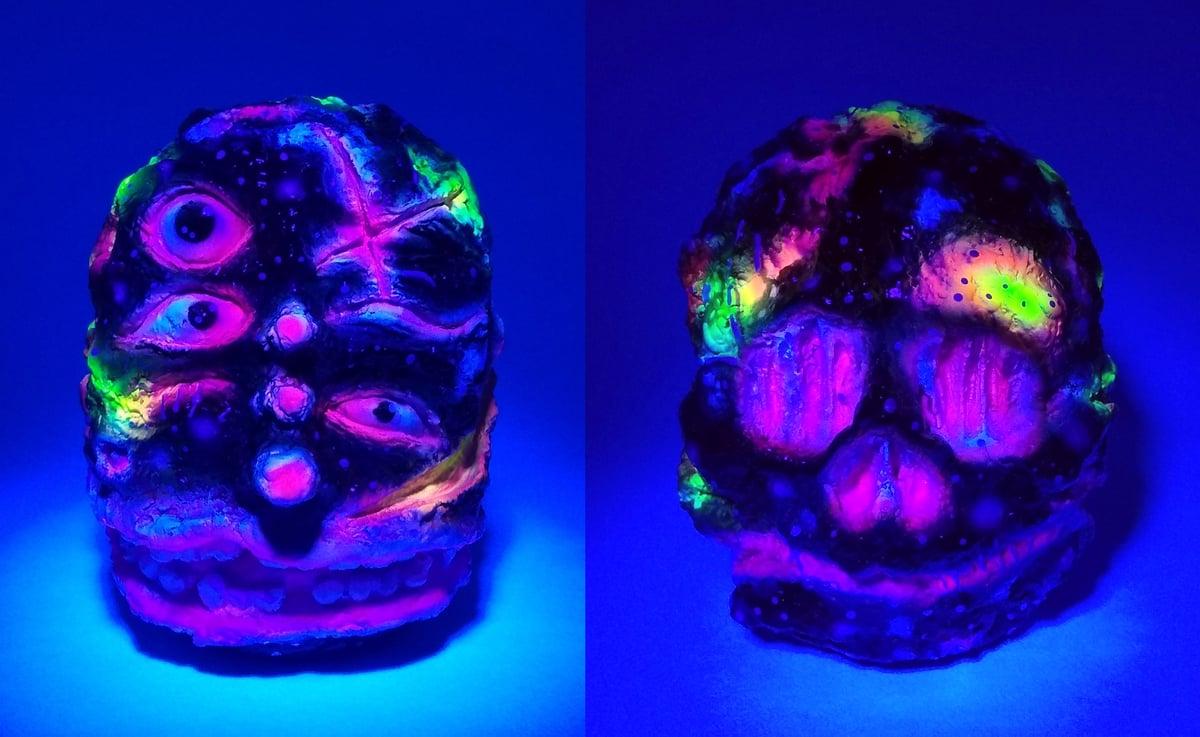 Image of ZKT Custom Neon Black SixEyeTruman