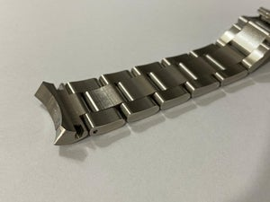 Image of ROLEX STAINLESS STEEL GENTS WATCH STRAP,SOLID CURVED LUGS,20MM,NEW