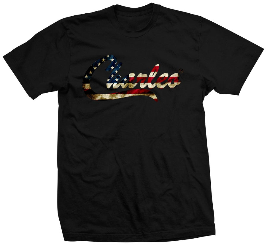Image of The Tattered Stars & Stripes Tee