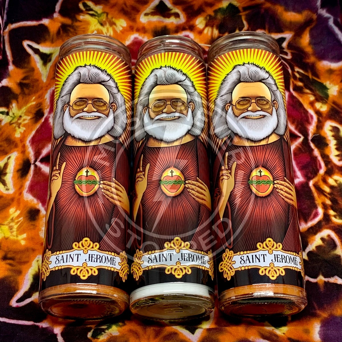 Saint Jerome & Saint Bob Prayer Candles!