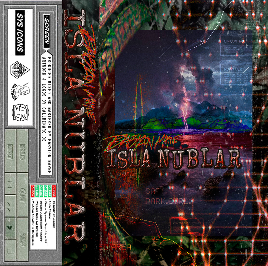 Image of BABYLON MAYNE - ISLA NUBLAR TAPE