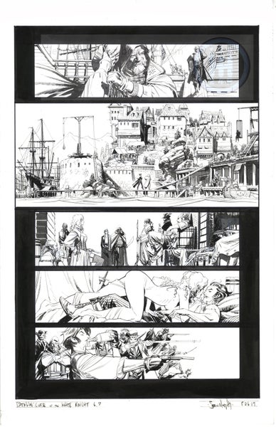 Image of Batman: Curse of the White Knight #6, page 7