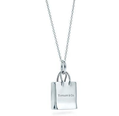 a82fdc97f fashionalertsupersale — Tiffany Silver Necklace w/ Shopping Bag ...
