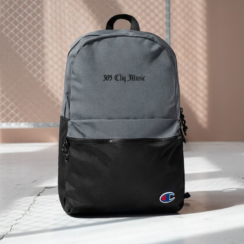 Image of 365 CLIQ Embroidered Champion Backpack