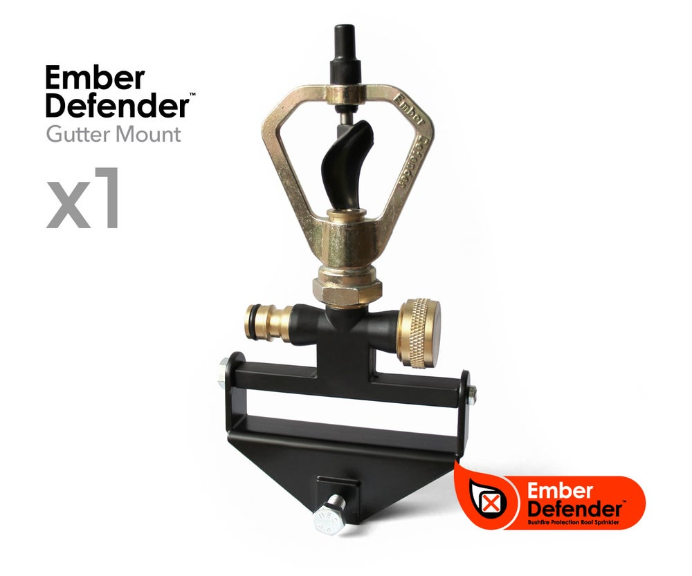 Image of Ember Defender Mk2 Gutter Mount Sprinkler Kit