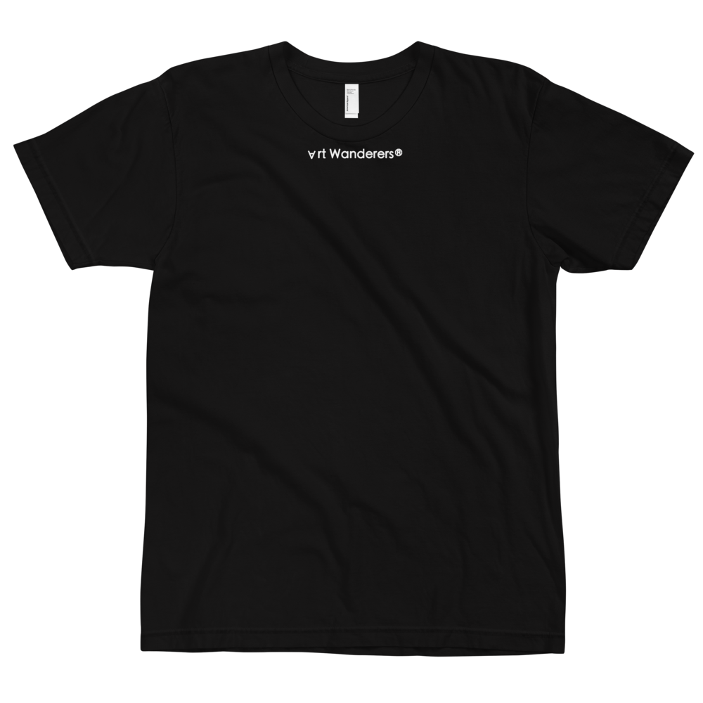 Image of Art Wanderers® X American Apparel® - State Reward Artwork - T-Shirt - Black