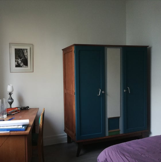 Image of Armoire années 60 relookée