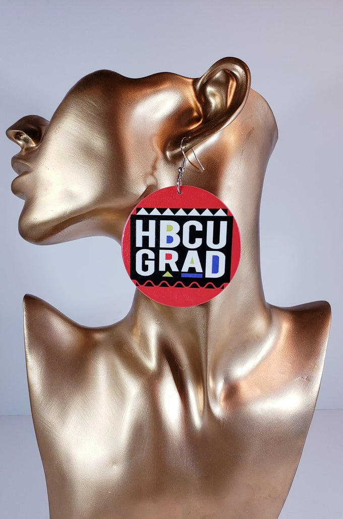 Image of HBCU Grad Earrings