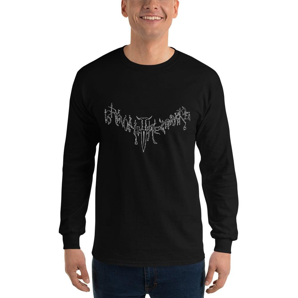 Image of Brenoritvrezorkre Logo Long sleeve t-shirt
