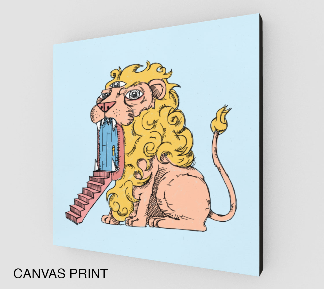 Image of Lions Too Print