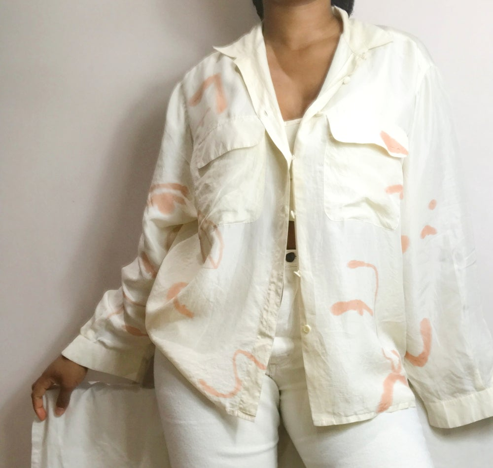 Image of mango butter blouse