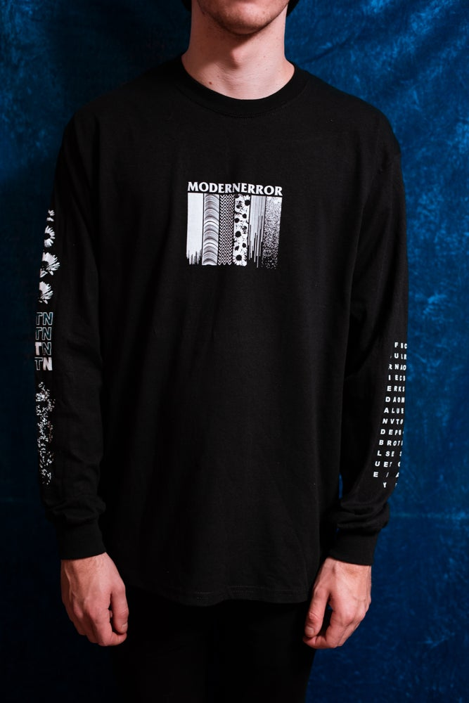 Image of 'Lost In The Noise' Black Longsleeve