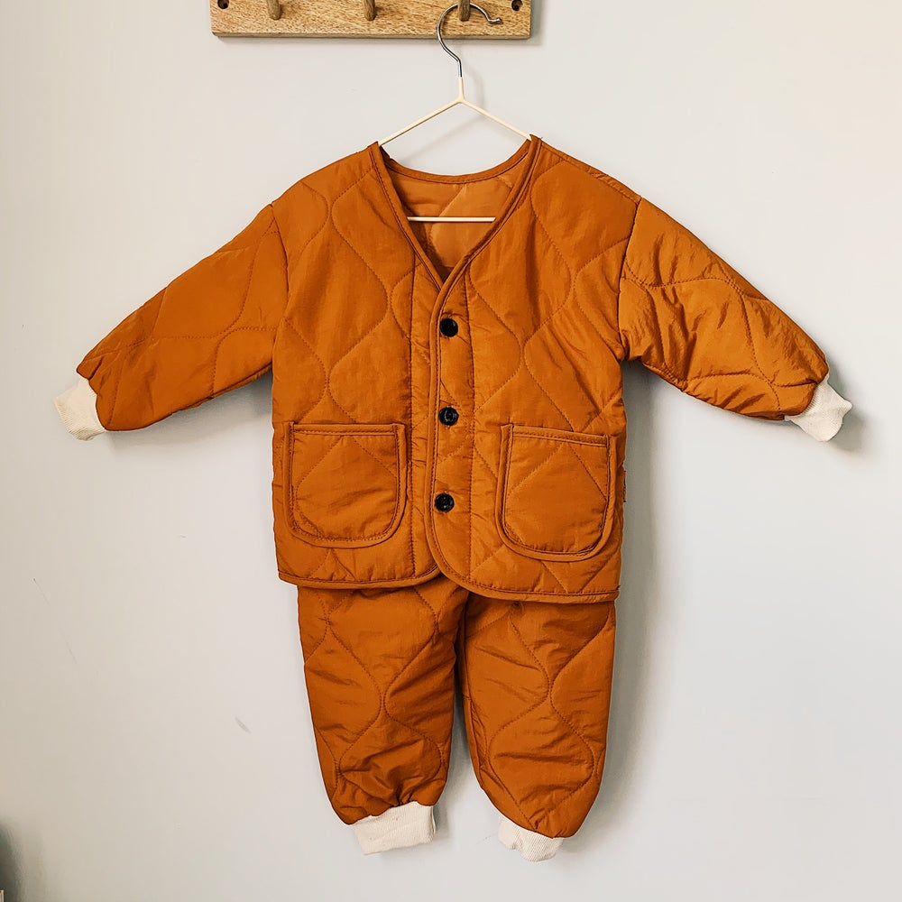 Image of THE MO TRACKSUIT - BURNT ORANGE