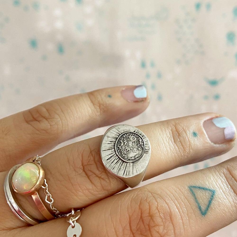 Image of Luna signet ring
