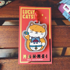 Image of MAHMEI - LUCKY CAT CHARM