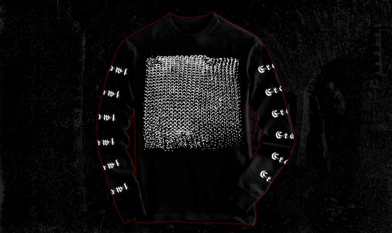 Image of Crawl Chain Mail Logo Longsleeve Shirt