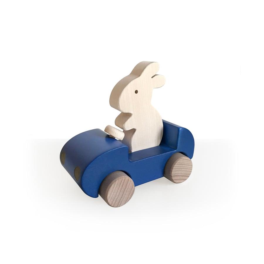 Image of Bunny Car Bleu